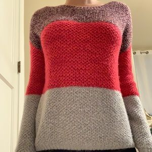 color block urban outfitters sweater